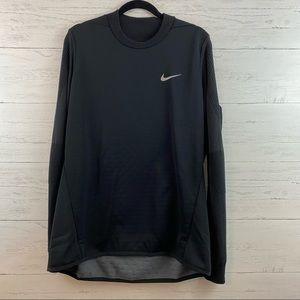Nike Gold Black Crew Neck Pullover Sweatshirt